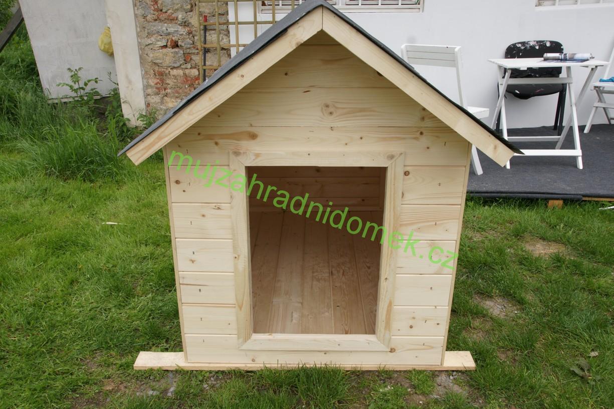 "Psí bouda velikosti ""XL"", 100x120x110, sedlová střecha"