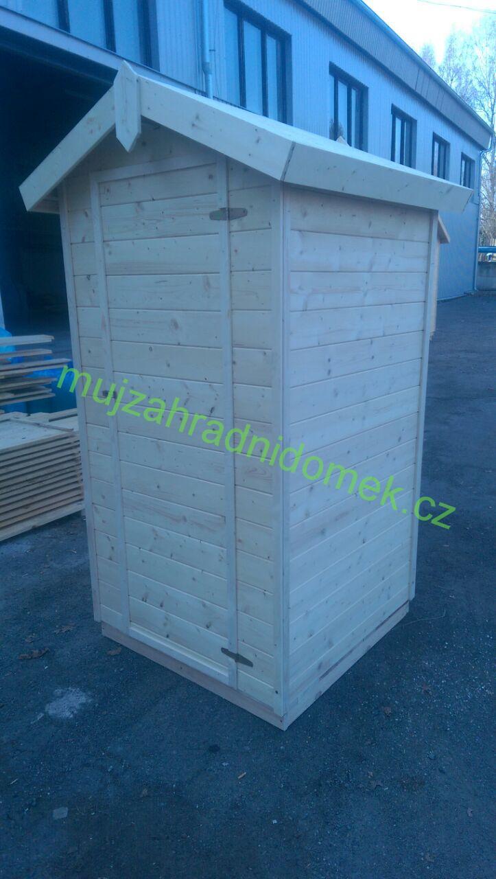 Kadibudka / Latrína / Suché WC, 1 x 1m, 16mm, bez sezení