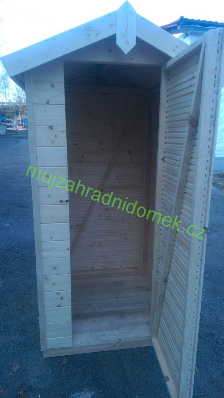 Kadibudka / Latrína / Suché WC, 1 x 1m, 12mm, bez sezení