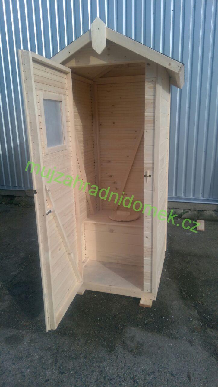 Kadibudka / Latrína / Suché WC se sezením a oknem, 1 x 1m, 12mm