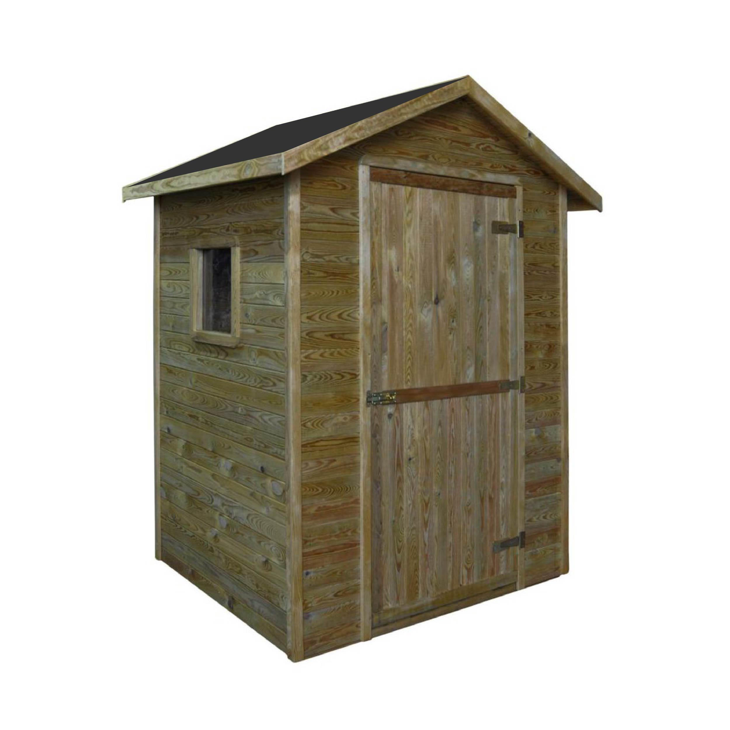 Zahradní dřevěný domek 1,8x1,8m, (16mm) s oknem, MATARO