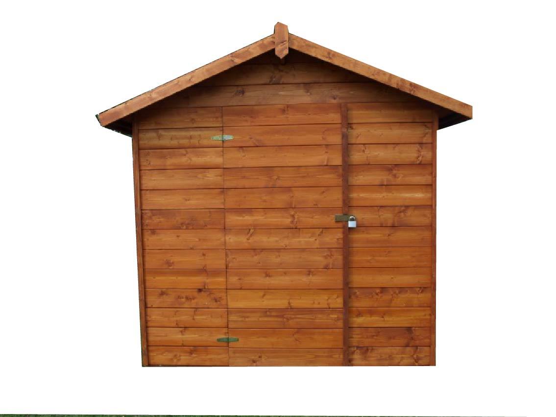 Zahradní dřevěný domek 2,3x2,3m, (16mm), GRANADA