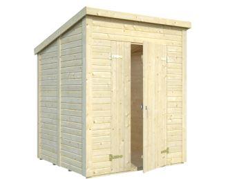 Zahradní dřevěný domek 3,2 x 3,2 m, 16mm, rovná / pultová střecha