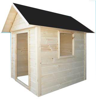 Dětský dřevěný zahradní domek ALEX II - 1,7m x 1,7m
