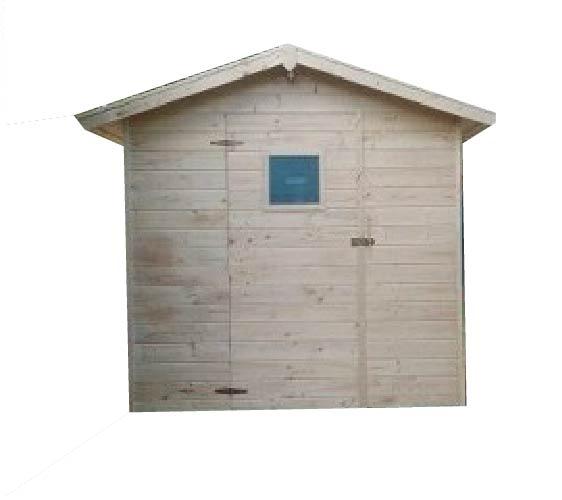 Zahradní dřevěný domek 2,3x2,3m, (12mm) s oknem, MARBELA