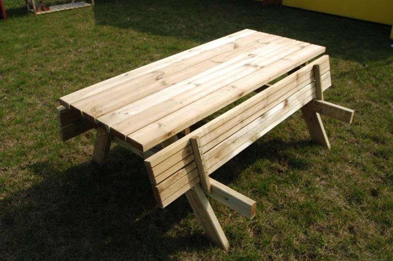 Pivní set š.150 cm - zahradní sezení