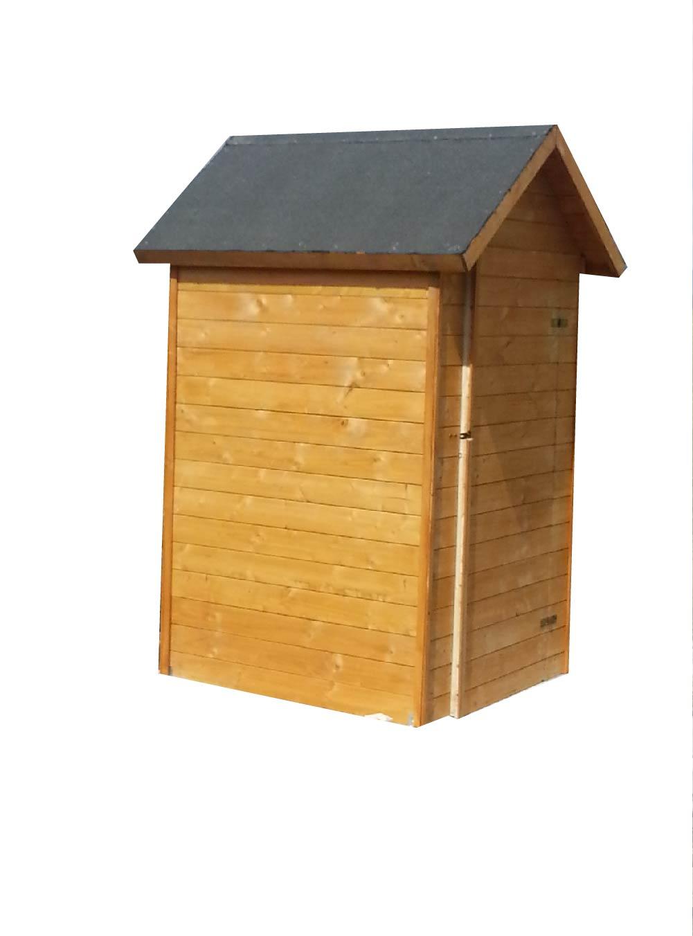 Zahradní dřevěný domek 1,5x1,5m, (19mm), MERIDA